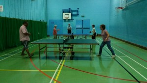 Seniors Table Tennis