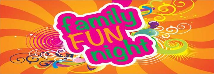 Family Fun Night Saturday  – 2nd July