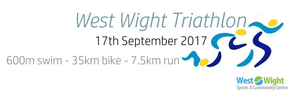 West Wight Triathlon 2017 header