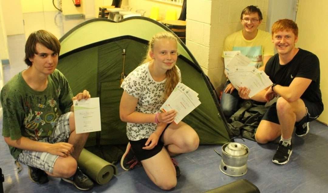 Silver award for young explorers
