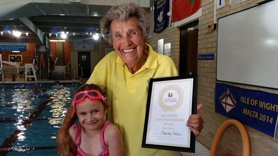 Age Friendly Award for Shirley