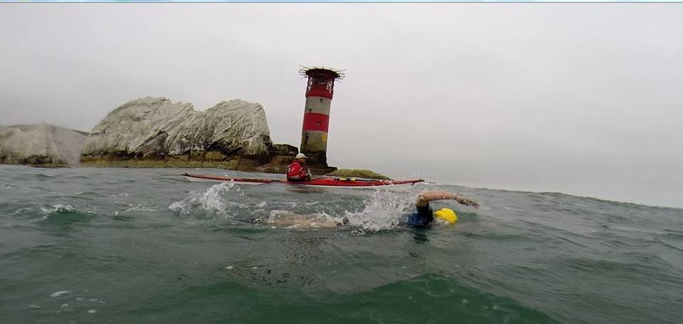 Open water swimming challenges