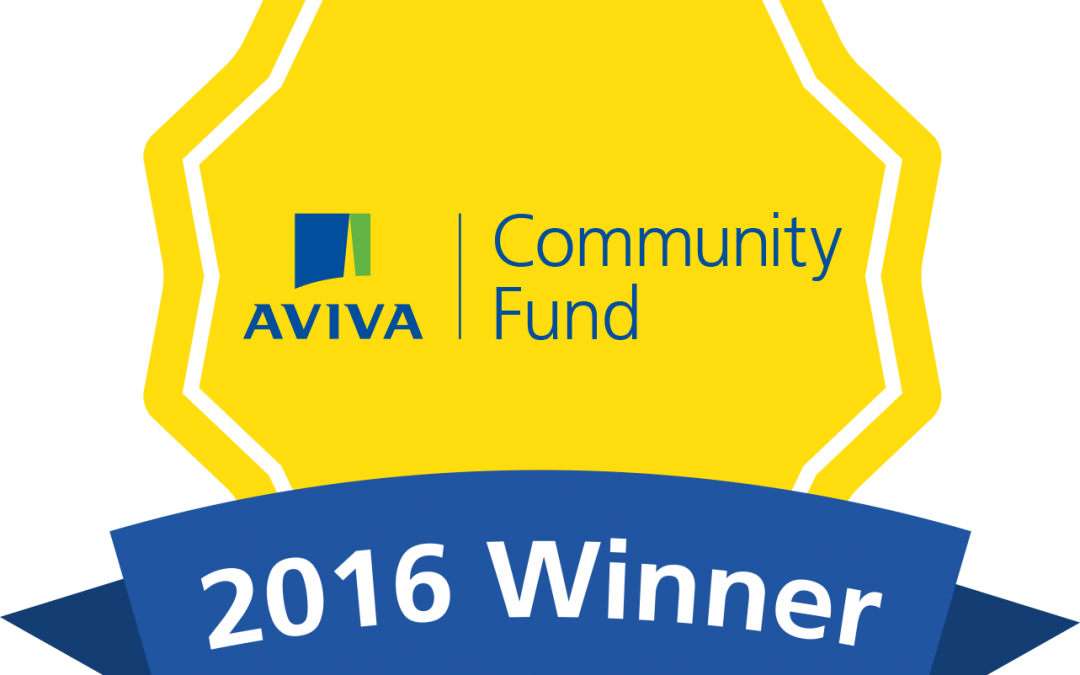 We won the Aviva Community Fund!