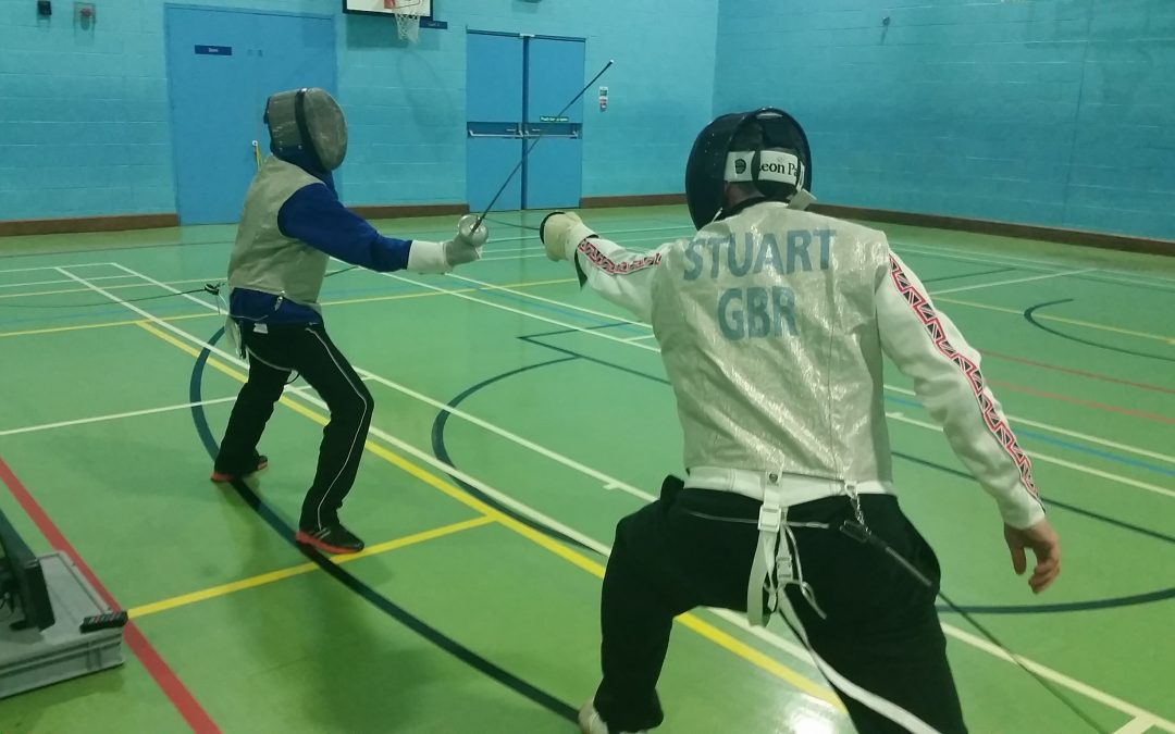 Introduction to fencing session