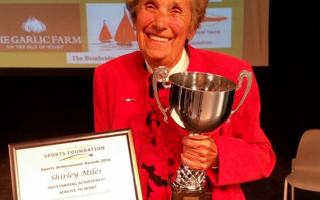 Shirley Miles wins 'Service to Sport' award