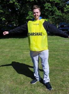 Isle of Wight Festival of Running marshal
