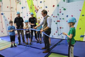 West Wight Climbing Wall