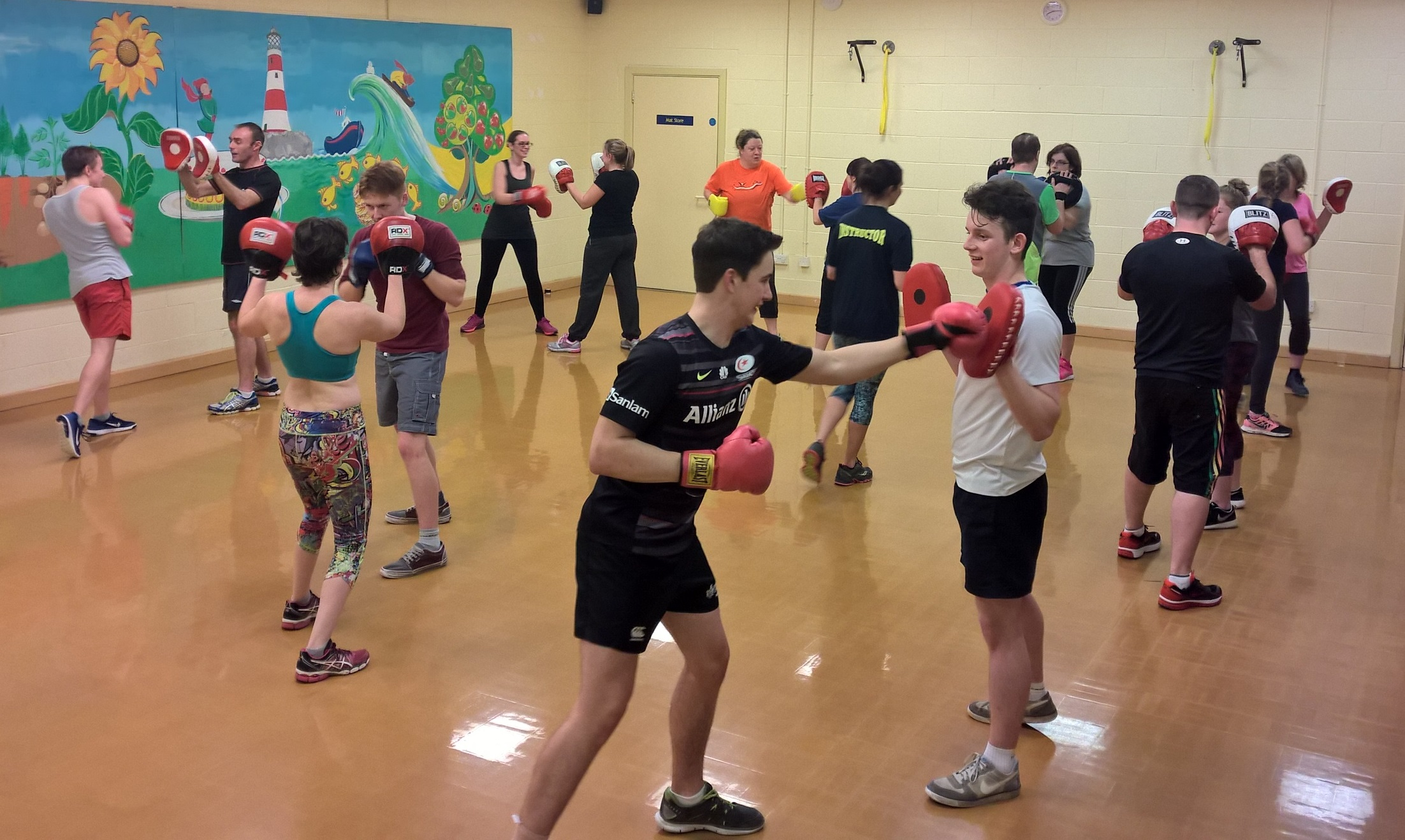 Boxercise - West Wight Sports and Community Centre