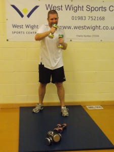west wight sports centre circuit training