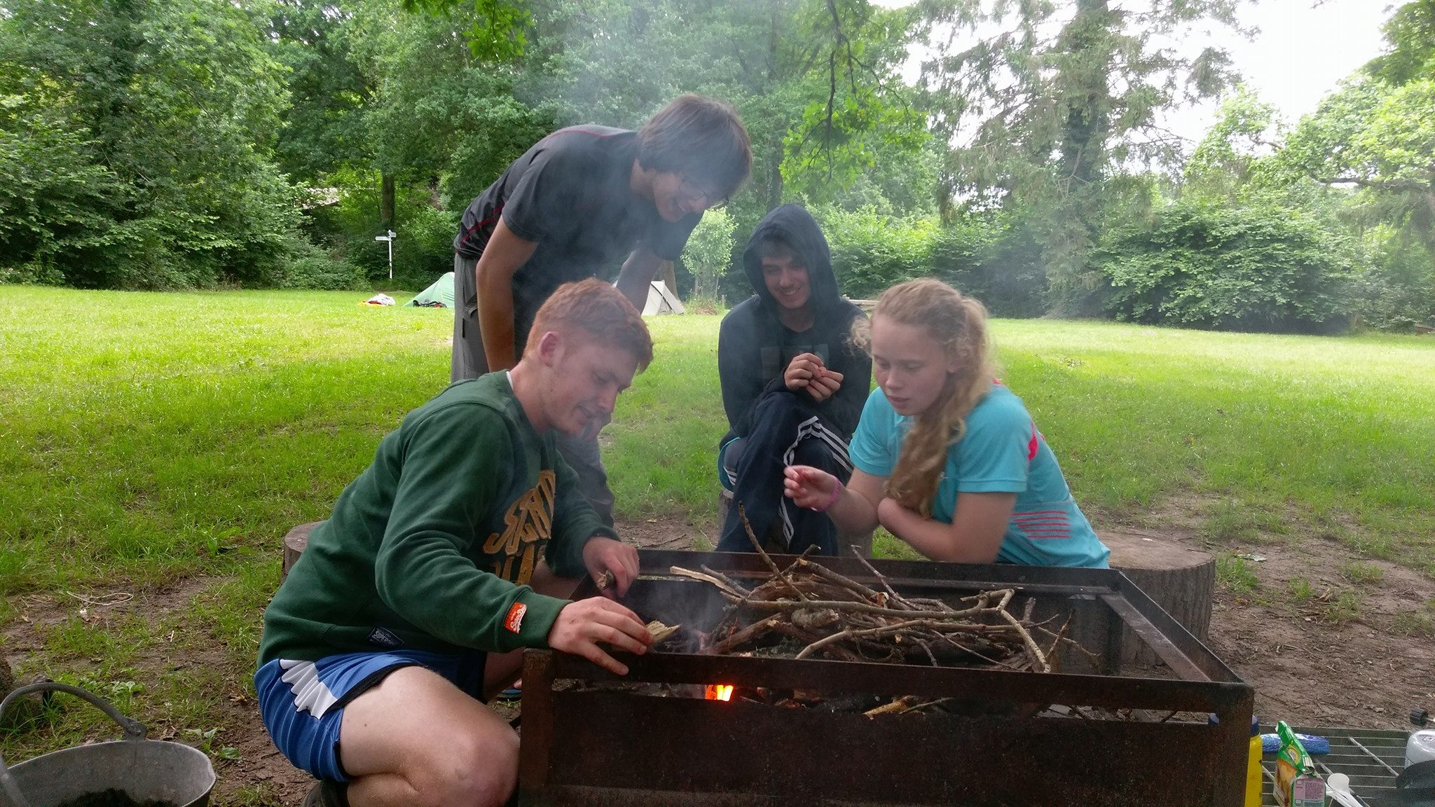 Silver Award For Young Explorers West Wight Sports And