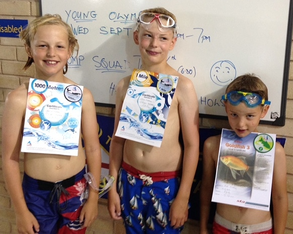 Summer success for young swimmers
