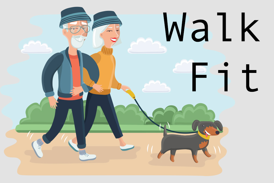 Kickstart your fitness with Walk Fit!