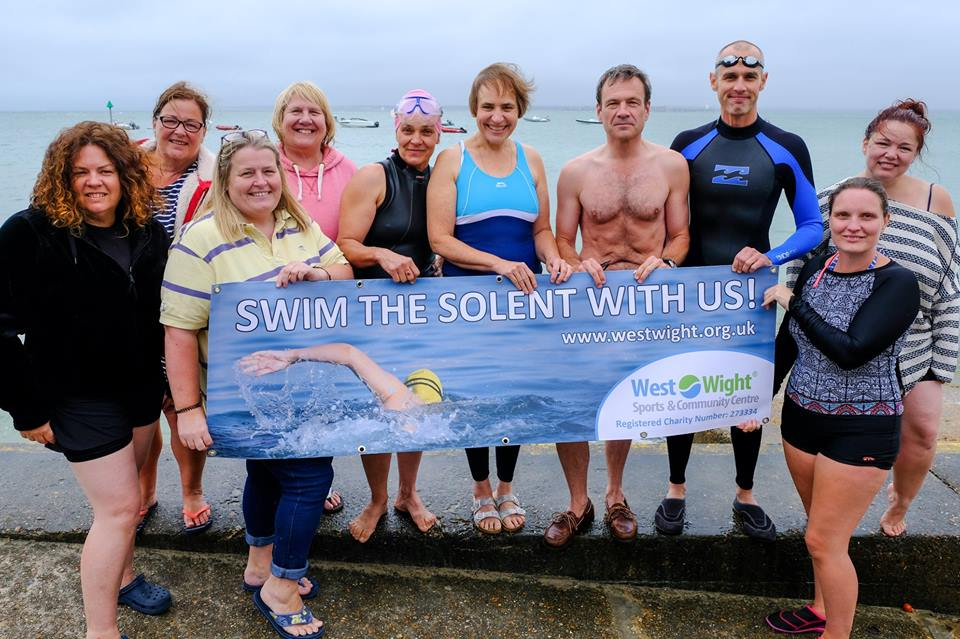 Bob Seely MP joins Solent Swimmers