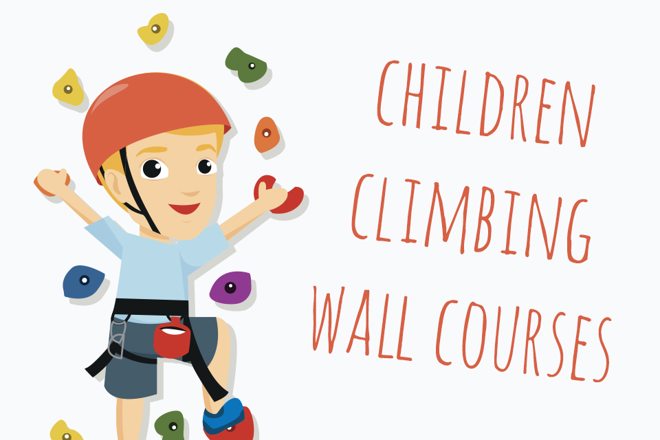 UPDATED TIME – Children's Climbing Wall Courses