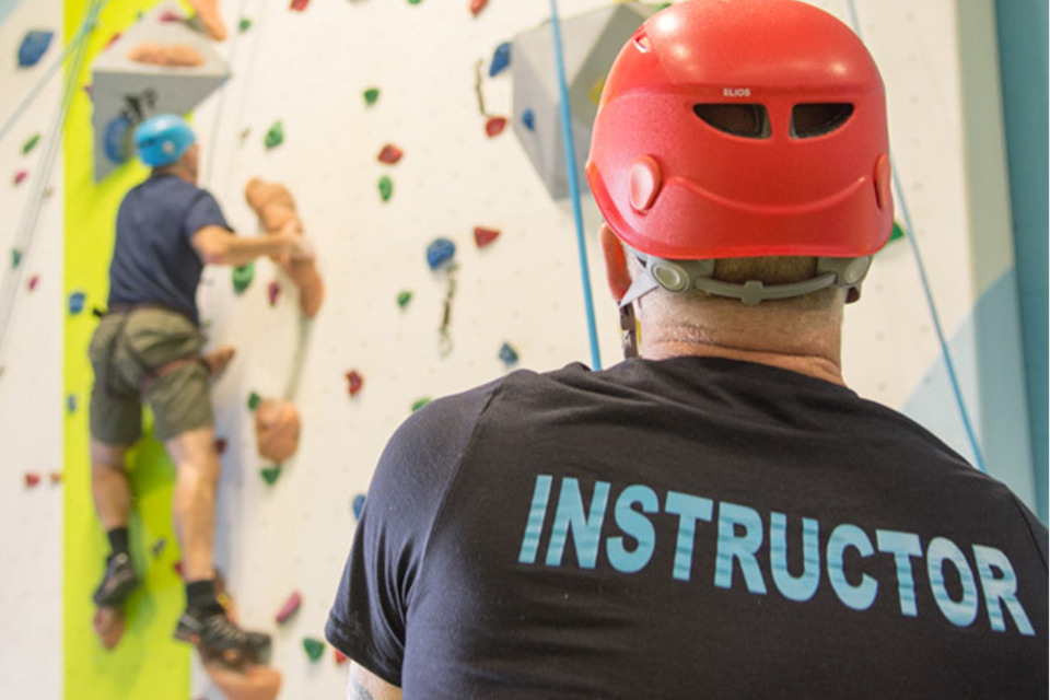 Join our team as a climbing instructor!