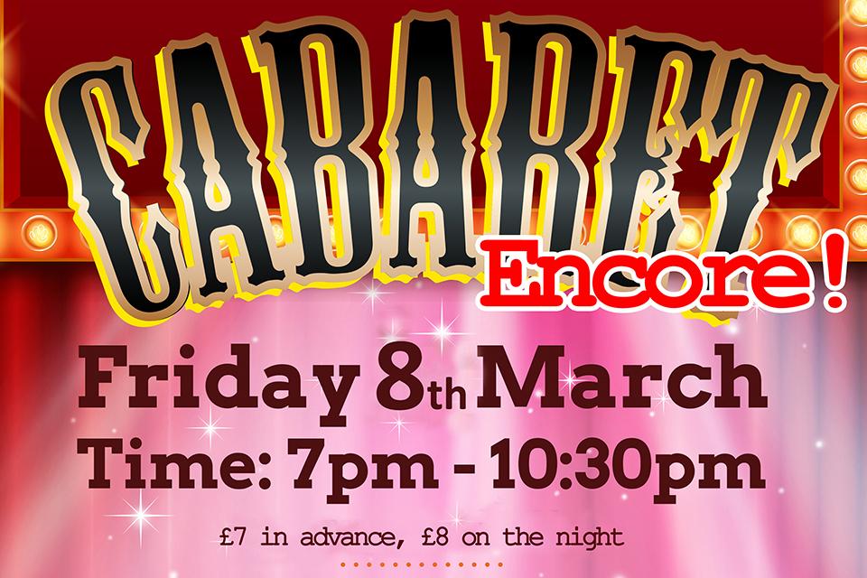 Freshwater Cabaret Encore