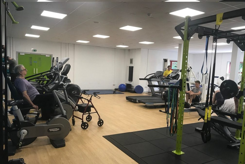 Have you seen our new gym?