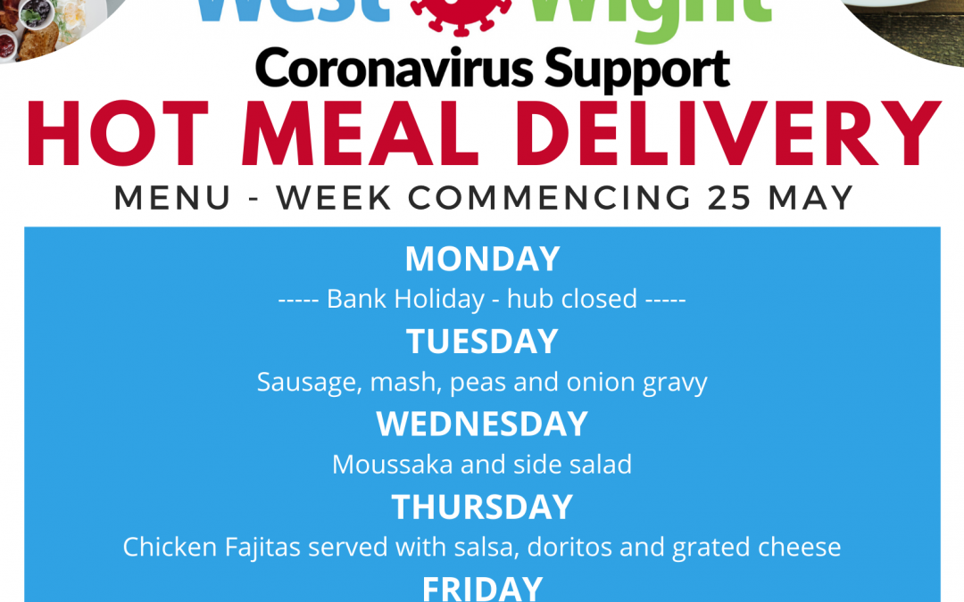 West Wight Coronavirus Support – Hot Meal Delivery