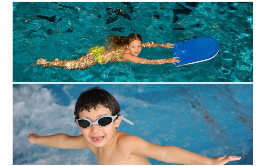 Socially Distanced Children's Swimming Lessons