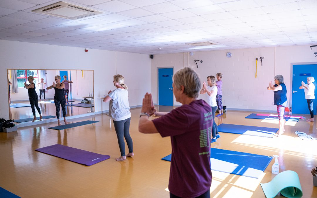 Indoor classes and other news