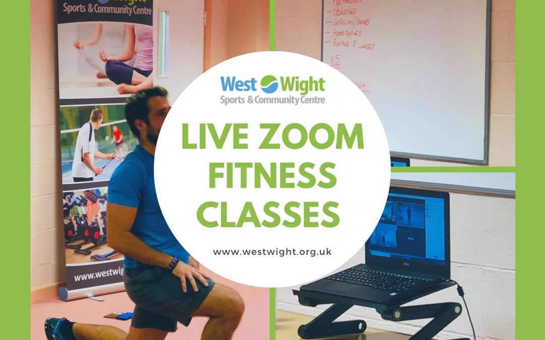 Online Fitness Classes – wc 25th January 2021