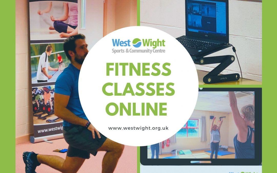 Online Fitness Classes – wc 5th April 2021