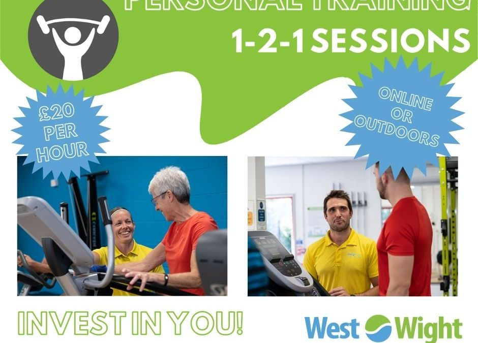 Personal Training Available – Online or Outdoors