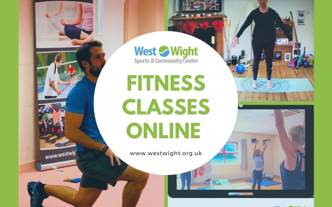 Online Fitness Classes – wc 22nd March 2021