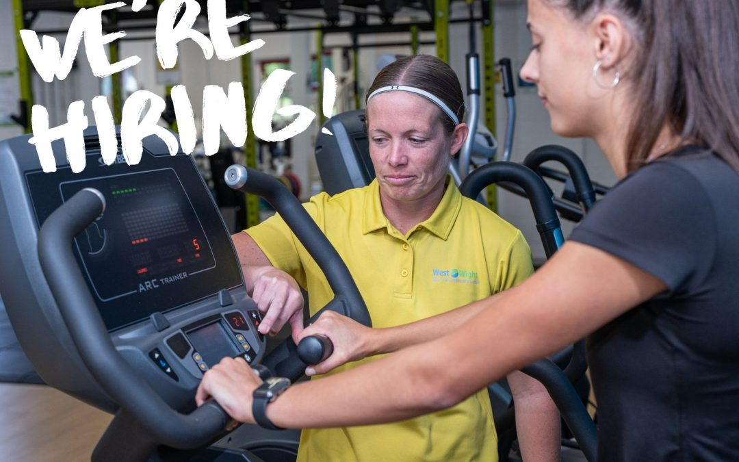 We're Hiring – Fitness Instructor