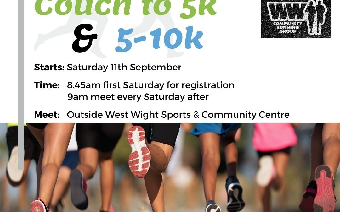 New Couch to 5k and 5-10k Start 11th September