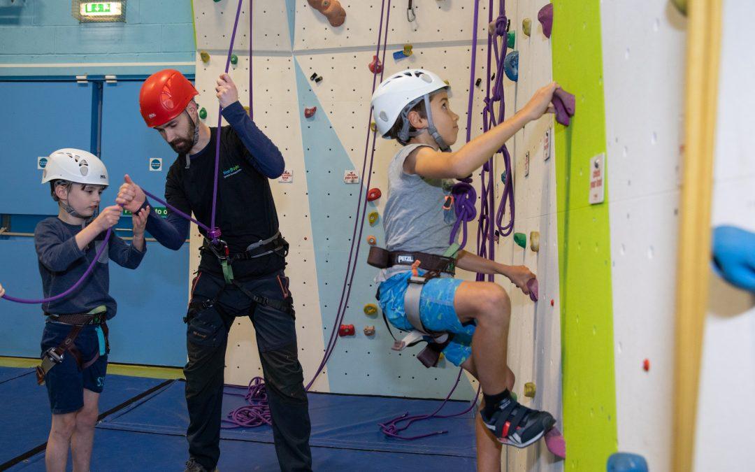 4-week Children's Climbing Course